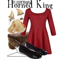 """""""Horned King"""" by lalakay on Polyvore #disney"""