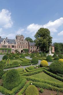 Kasteel van Gaasbeek (tuinen, trekpaarden, museum, audiotour voor kinderen, ...)