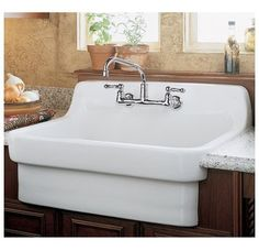 American Standard 9062.008....  Love this sink!  And the kitchen that would go with it.