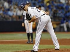 Brad Boxberger was effective in 2015 but has been plagued by injuries in each of the past two seasons. Will he be part of the Rays' 2018 pen? Tampa Bay Rays Baseball, Florida, Opening Day, Cleveland Indians, Sport, Mlb, The Past, Join, Seasons