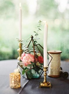 Geometric Wedding Table Centerpieces For Awesome Wedding Table Decorating Terrarium Centerpiece, Succulent Centerpieces, Candle Centerpieces, Wedding Table Centerpieces, Floral Centerpieces, Wedding Decorations, Centerpiece Ideas, Table Wedding, Terrarium Table