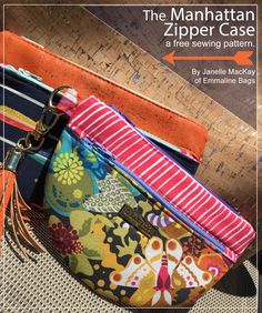 Emmaline Bags: Sewing Patterns and Purse Supplies: The Manhattan Zipper Case - A Free Sewing Pattern by Emmaline Bags