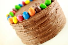 Gâteau chOcOlat, praliné, M's.