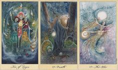 Ghosts and Spirits Tarot- Lisa Hunt I am working with this tarot deck for the month of October! Perfect!