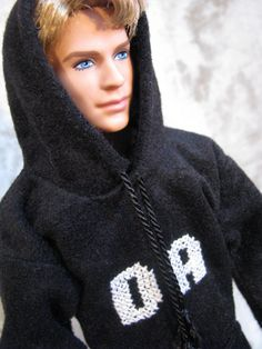 Ken hoodies with special ordered initials crossed stitched on the front. Order you special hoodie in just about any color and up to three initials.