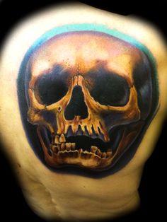 Color Skull Tattoo