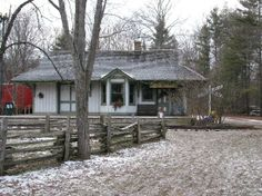 Westfield Heritage Village: Famous train station used for the filming of Anne of Green Gables