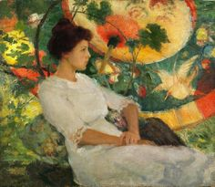 It's About Time: 09/07/13 Karl Albert Buehr (German-born American Painter, 1866-1952) In Repose