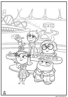 Inside out Coloring Pages free printable 38