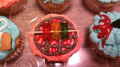 Gummy kabob cupcake created by Alicia @ Phat N Sassy Sweets
