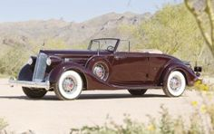 1936 Packard Twelve 1407 Coupe Roadster