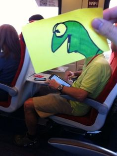 How to pass time on the train - http://imgur.com/gallery/K8PDa