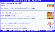 Check out all the cool stuff coming up around Ocean City MD.... #oceancitycool