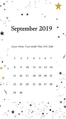 September 2019 iPhone Calendar Wallpaper #september #september2019 #iPhonecaledarwallpaper #2019