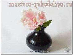 Мастер-класс по керамической флористике: Магнолия