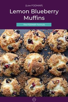 Looking for a make-ahead breakfast that travels? These low FODMAP lemon blueberr… Looking for a make-ahead breakfast that travels? These low FODMAP lemon blueberry muffins are perfect for work or for school! Lemon Blueberry Muffins, Blue Berry Muffins, Blueberry Breakfast, Fodmap Recipes, Diet Recipes, Fodmap Foods, Dieta Fodmap, Fodmap Baking, Fodmap Meal Plan