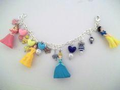 Disney Princess-Inspired Charm Bracelet