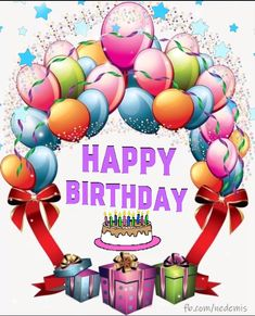happy birthday wishes Happy birthday, ballons,cake,image gif Happy Birthday Greetings Friends, Happy Birthday Cards Images, Happy Birthday Frame, Happy Birthday Wishes Images, Happy Birthday Video, Happy Birthday Celebration, Birthday Wishes Messages, Happy Birthday Pictures, Happy Birthday Greeting Card