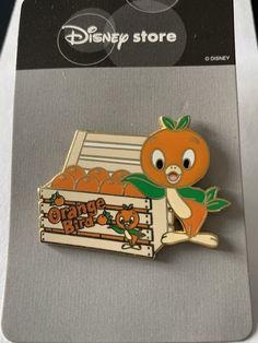 Disney Orange Bird & Crate of Oranges Tropical Serenade Sunshine Pavilion Japan Tokyo Pin Disney Toys, Disney Art, Disney Babies, Walt Disney, Cartoon Network Adventure Time, Adventure Time Anime, Disney Princess Tattoo, Punk Princess, Disney Pin Collections