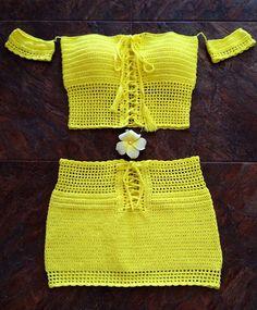 Summer wear Beachwear Summer crocher dress Crochet mini dress