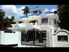 10 cents plot and sq ft luxury house for sale in Angamaly, Kochi, Kerala House Porch Design, Flat House Design, Brick House Designs, Kerala House Design, Bungalow House Design, Dream Home Design, 40x60 House Plans, Beautiful House Plans, Kerala Houses