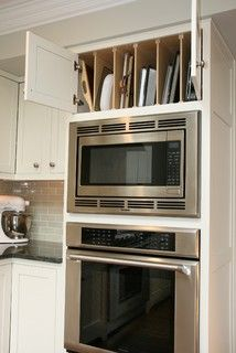 New Oven and Microwave Cabinet