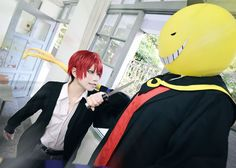 Karuma Akabane and Koro-sensei - Assassination Classroom