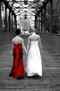 Bride/Maid of Honor...A must do photo.