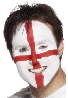 St. George Make-Up Kit - -Escapade #sixnations #fancydress Six Nations Rugby, Welsh Dragon, Fancy Dress Accessories, Funky Design, Makeup Kit, Saints, Make Up, Face, Cowls