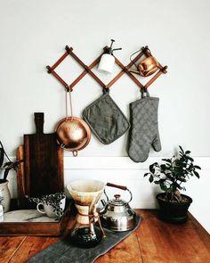 Pinterest: mia ☾ Hipster kitchen decor