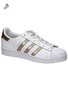 Adidas - Superstar W - BA8169 - Color: Golden-White - Size: 7.0