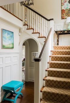 10 Stairway Design Ideas ~ Humpdays with Houzz - Town & Country Living