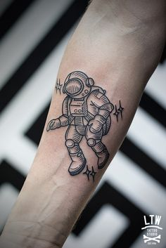 Astronauta por Cisco, LTW Tattoo