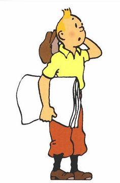 Hergé's Tintin • Tintin, Herge j'aime