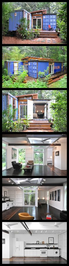 Artist Builds His Home From Recycled Shipping Containers  www.jetsongreen.c...
