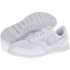 Nike Cheer Compete Women's Cross Training Shoes, White ($65) ❤ liked on Polyvore featuring shoes, athletic shoes, white, nike, nike shoes, breathable shoes, white shoes and nike footwear