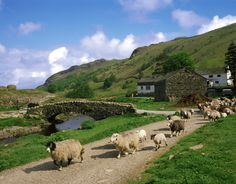 This picture of Watendlath, Nr. Keswick, Cumbria, England.