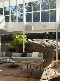 Skirt + Rock House brings the outside in