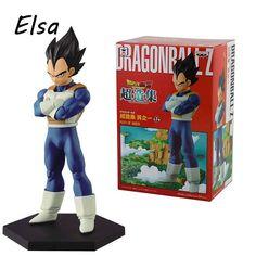 15cm Dragon Ball Z Master Stars Piece Vegeta PVC Action Figure Collectible Model Toy WJ200
