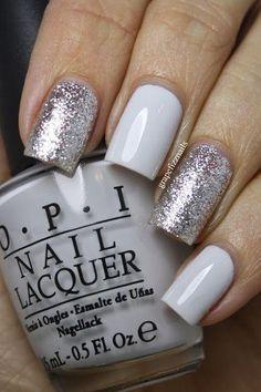 White/glitter <3