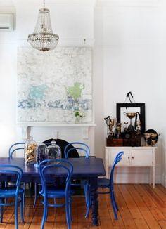 7 Mesa de jantar colorida no blog Detalhes Magicos