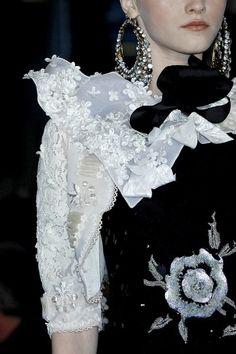 christian lacroix haute couture | Christian Lacroix Haute Couture - Detail | Black and White