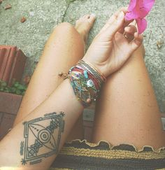 This year's hot tattoo style is...Geometric! 2