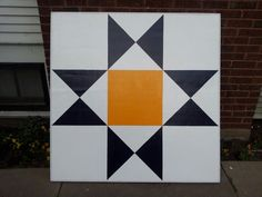 Barn Quilt - Ohio star pattern