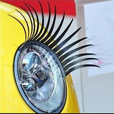 Styling how cute!Veículo olhos adesivo de carro Lashes – BRL R$ 7,82