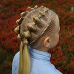 "693 Likes, 53 Comments - Hilde (@studiohilde) on Instagram: ""Connected v braids into a high side poytail inspired by the creative @easytoddlerhairstyles . . .…"""