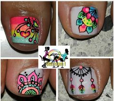 Uñas Hello Nails, Toe Pics, Feet Nails, Toe Nail Designs, Toe Nail Art, Manicure And Pedicure, Fleece Poncho, Make Up, Nailart