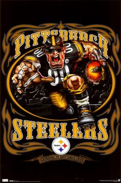 Pittsburgh Steelers...perfect for cornhole boards