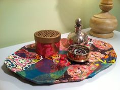 Young America Blog — DIY Craft: Bohemian-inspired Trays for a Teen Girl's Room