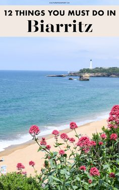 Looking for things to do in Biarritz? Here are the 12 best things to do in Biarritz this summer! Best places to eat, what to see, and more! Visit France, South Of France, Places To Travel, Travel Destinations, Places To Visit, Saint Tropez, Bilbao, Cannes, Stuff To Do